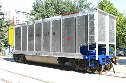 国铁路货车的应用
