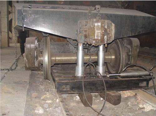 SHF型滑板式复轨器