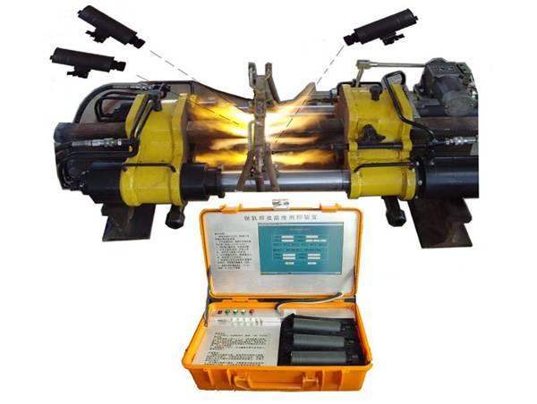 精确温度控制钢轨气压焊设备图片