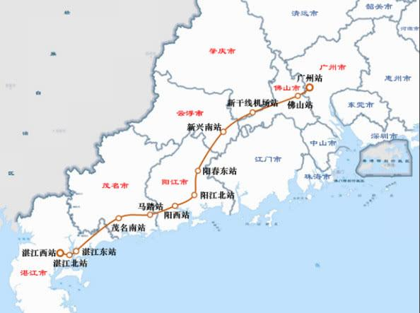 广州即将开建一条新高铁